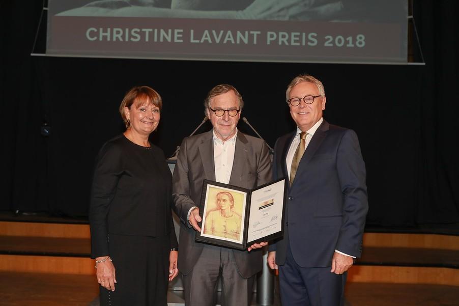 Levant-Preisträger Klaus Merz © Internationale Christine Lavant Gesellschaft/APA-Fotoservice/Tanzer