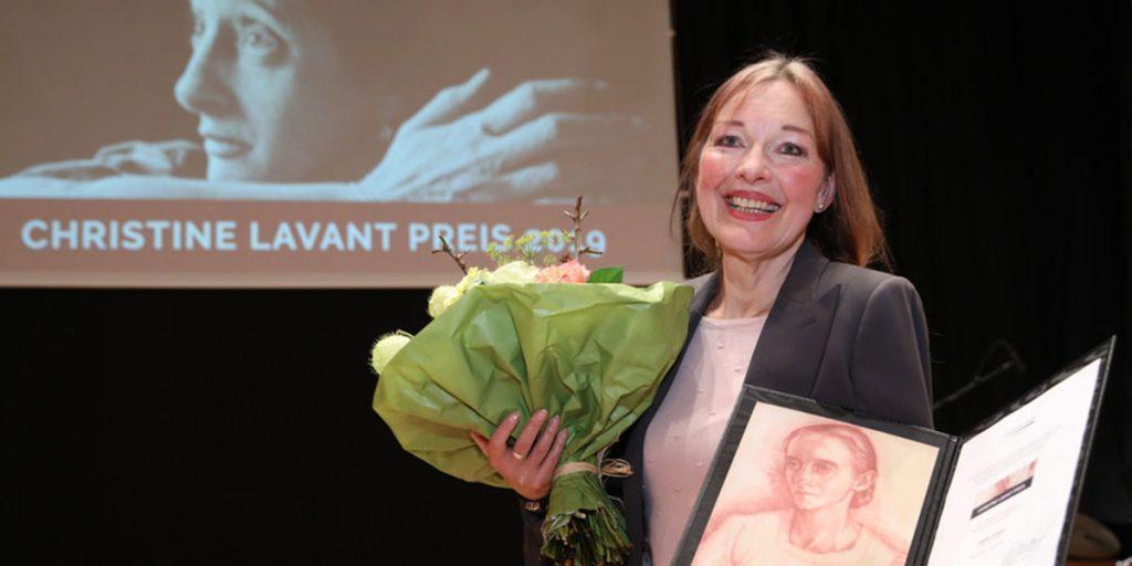 Angela Krauß, Lavant-Preisträgerin 2019. Foto: APA - Ludwig Schedl